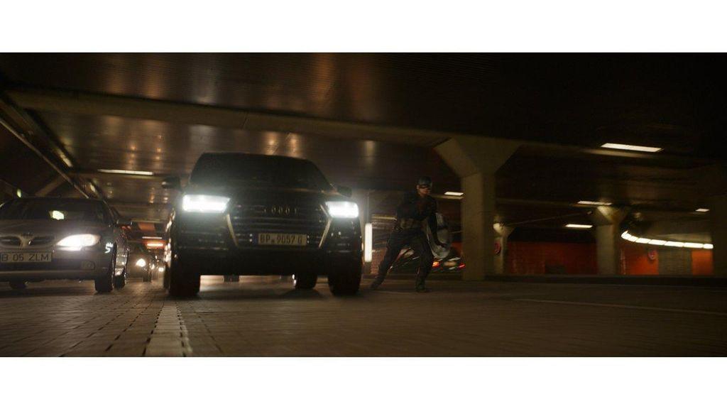 Deretan Mobil Audi di Film Captain America: Civil War