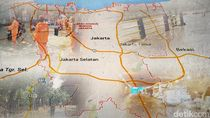 Kali Ciliwung Meluap, Cawang dan Kampung Melayu Tergenang