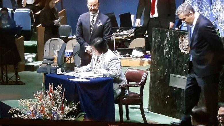 RI Pegang Komitmen Laksanakan Perjanjian Paris Meski AS Hengkang