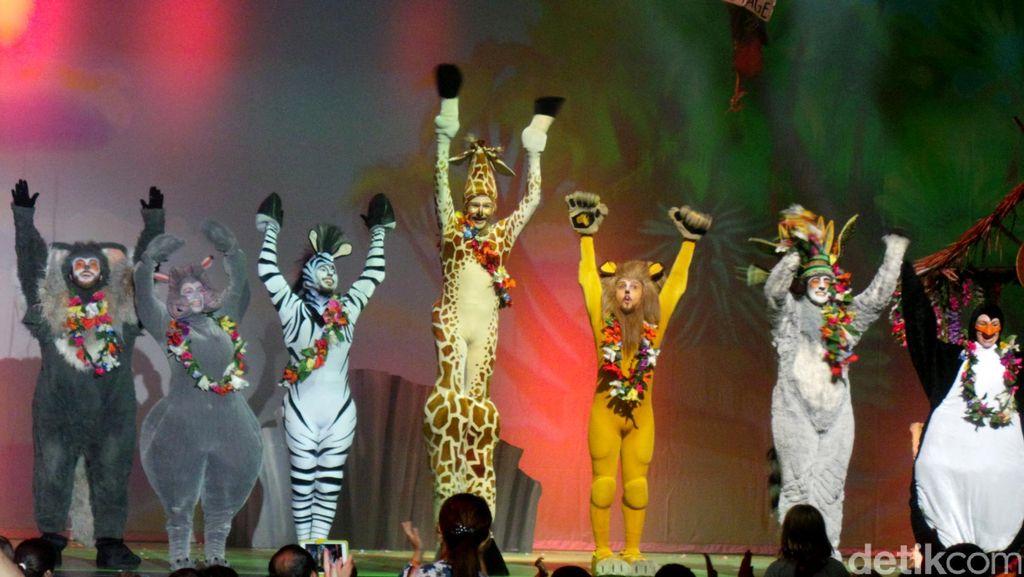 Serunya Panggung Teater Madagascar Live! di Singapura