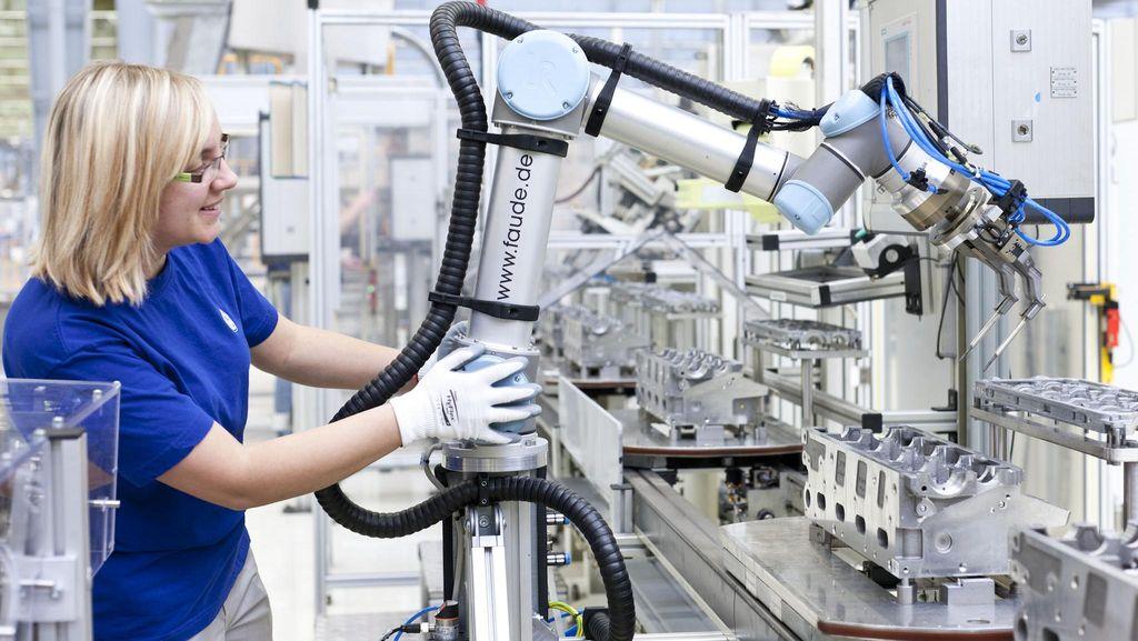 Ini Alasan Industri Pakai Robot dan Kurangi Rekrut Manusia