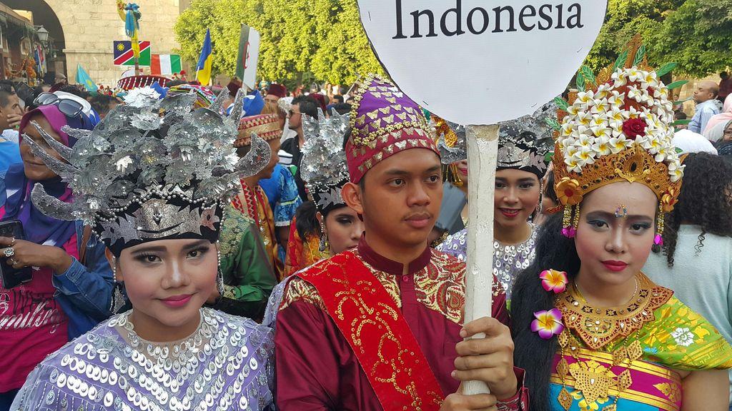 Indonesia Meriahkan International Drums and Traditional Arts Festival di Kairo