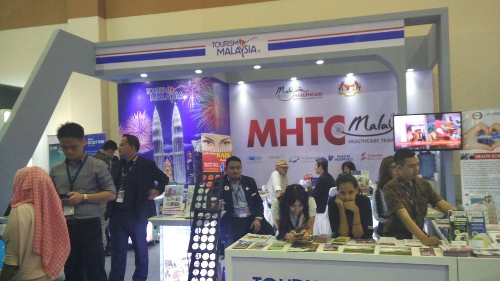 Malaysia Promosi Wisata Belanja di GATF 2016