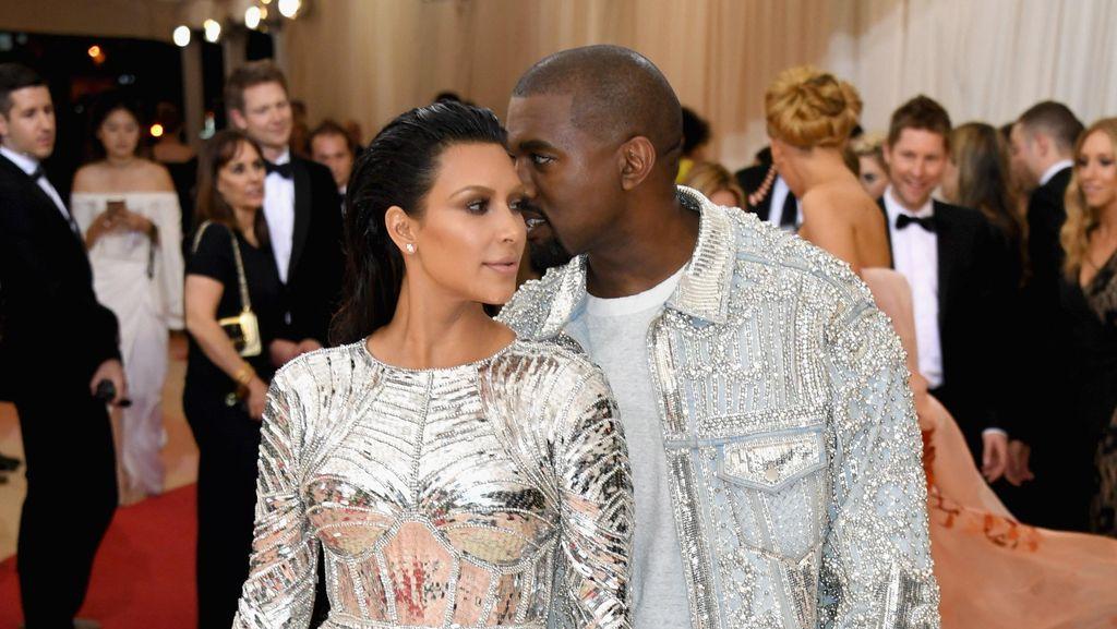 Naksir Kim Kardashian Sejak Lama, Kanye West Ingin Buktikan Dia Keren