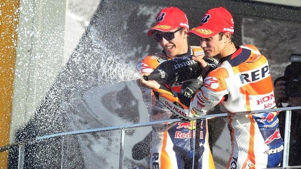 Marquez dan Pedrosa Datang ke RI, Honda Tidak Luncurkan Motor Anyar