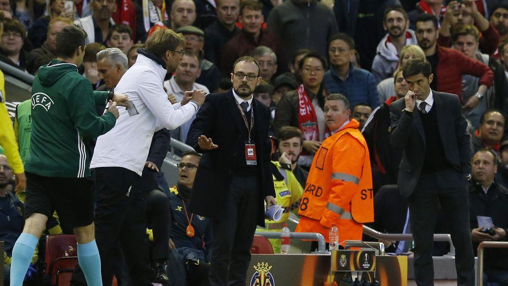 Klopp Balas Kritik Pelatih Villarreal soal Perayaan Golnya