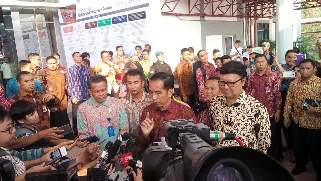 Jokowi Minta Pemda Jangan Bikin Perda Hambat Investasi