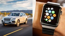 Mobil Bentley Bisa Dikendalikan Lewat Apple Watch