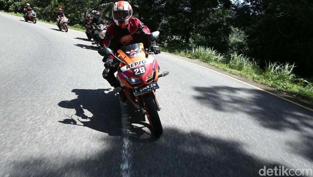 Ratusan Bikers Ikuti Tour de Mandeh