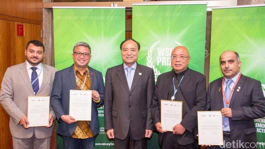 Internet Sehat Diganjar Award di Jenewa