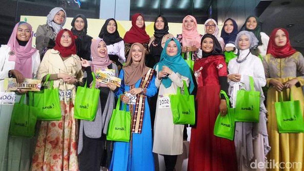 17 Peserta Audisi Sunsilk Hijab Hunt Jakarta yang Lolos ke Babak Voting
