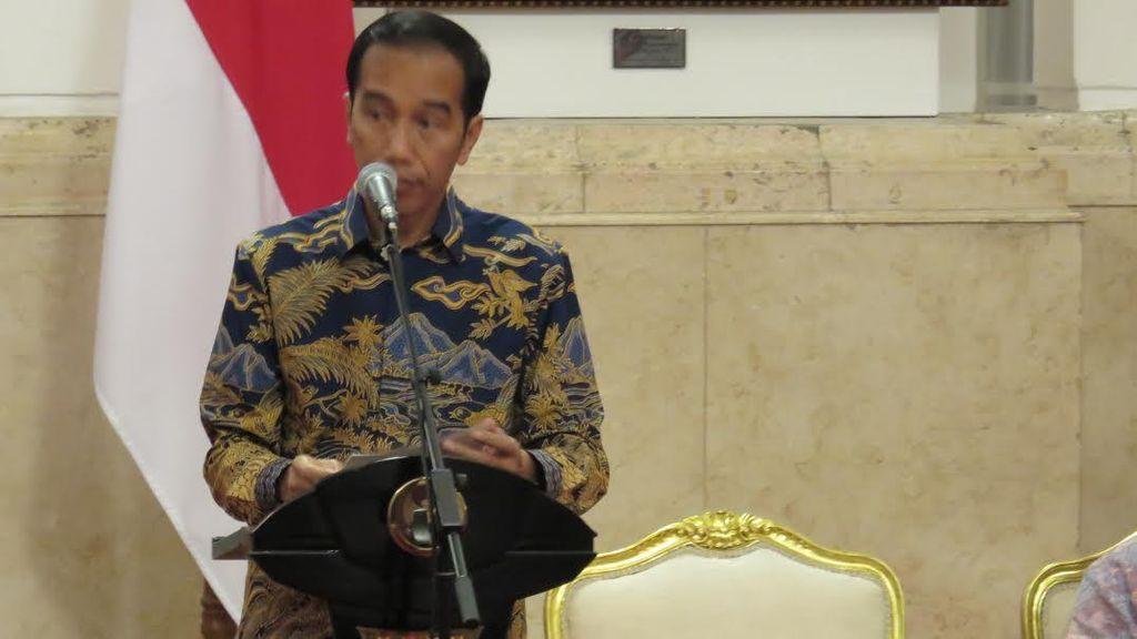 Jokowi Pamer Ekonomi RI Tembus US$ 1 T di Depan Ribuan Pengusaha
