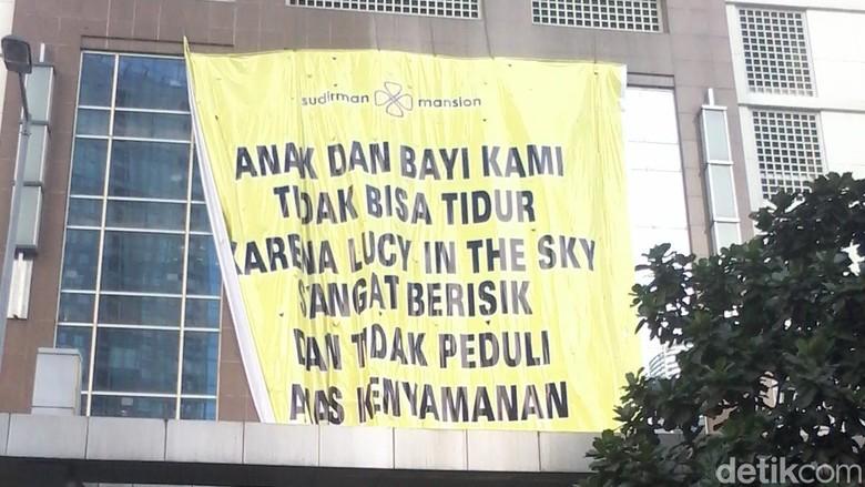 Penghuni Sudirman Mansion Terganggu Suara Lucy in The Sky: Kami Susah Tidur!