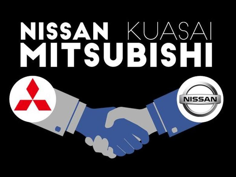 Nissan Belum Berencana Tambah Sahamnya di Mitsubishi