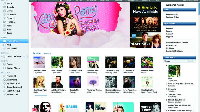 iTunes di Indonesia yang Baru Tebar Pesona