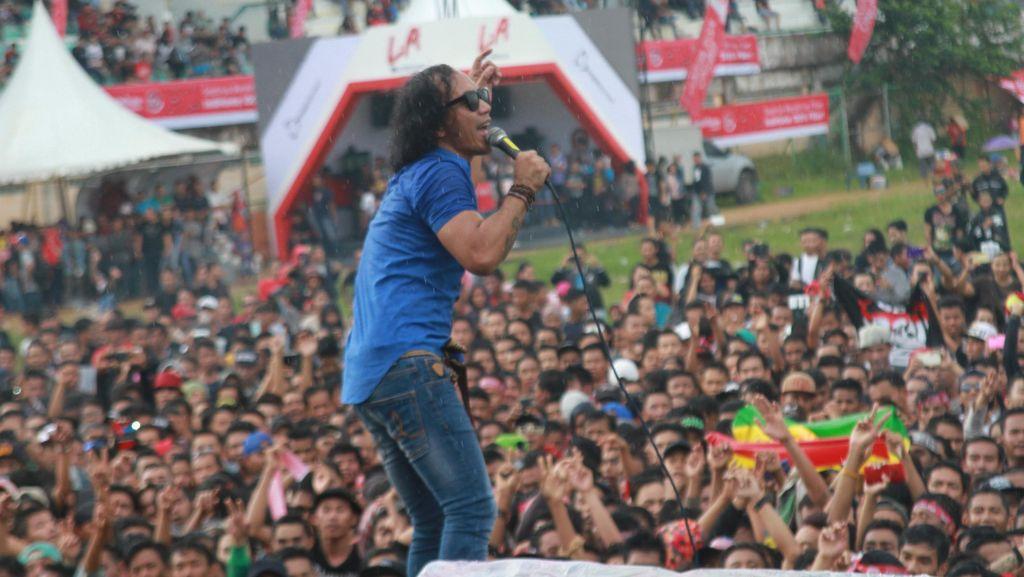 Slank Makin Rajin Konser ke Pelosok Nusantara