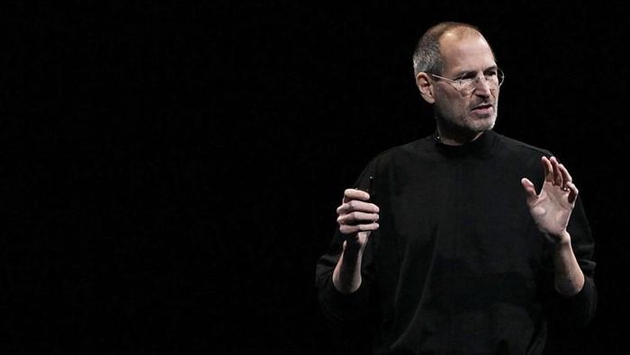 Steve Jobs adalah salah satu tokoh yang bertangan kidal. Foto: Getty Images