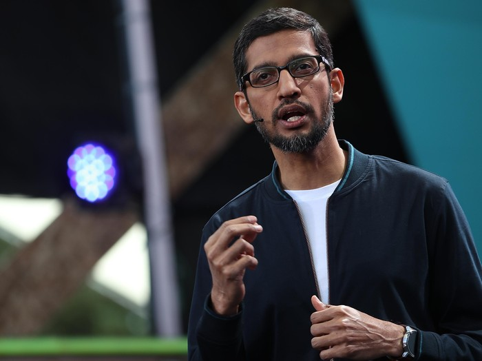 CEO Google Sundar Pichai. Foto: GettyImages