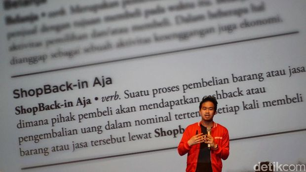 Indra Yonathan, Co-Founder dan Country Head of ShopBack Indonesia.
