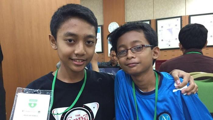 Foto: Linux dan Hanif (detikINET/Adi Fida Rahman)