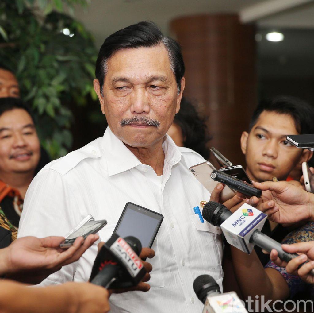Panglima TNI Ditolak Masuk AS, Ini Respons Luhut
