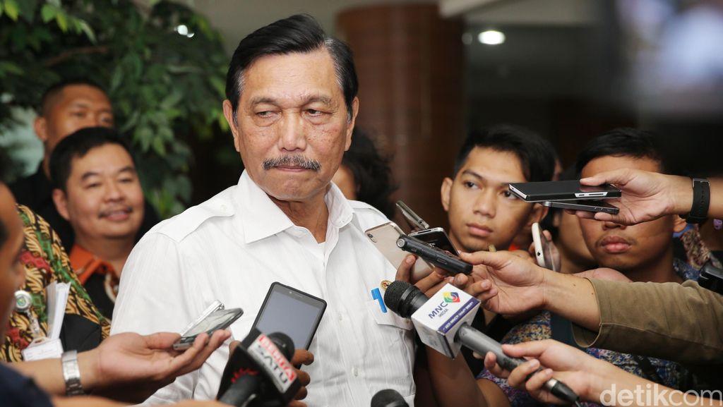 Luhut Bongkar Isi Pertemuan dengan Prabowo