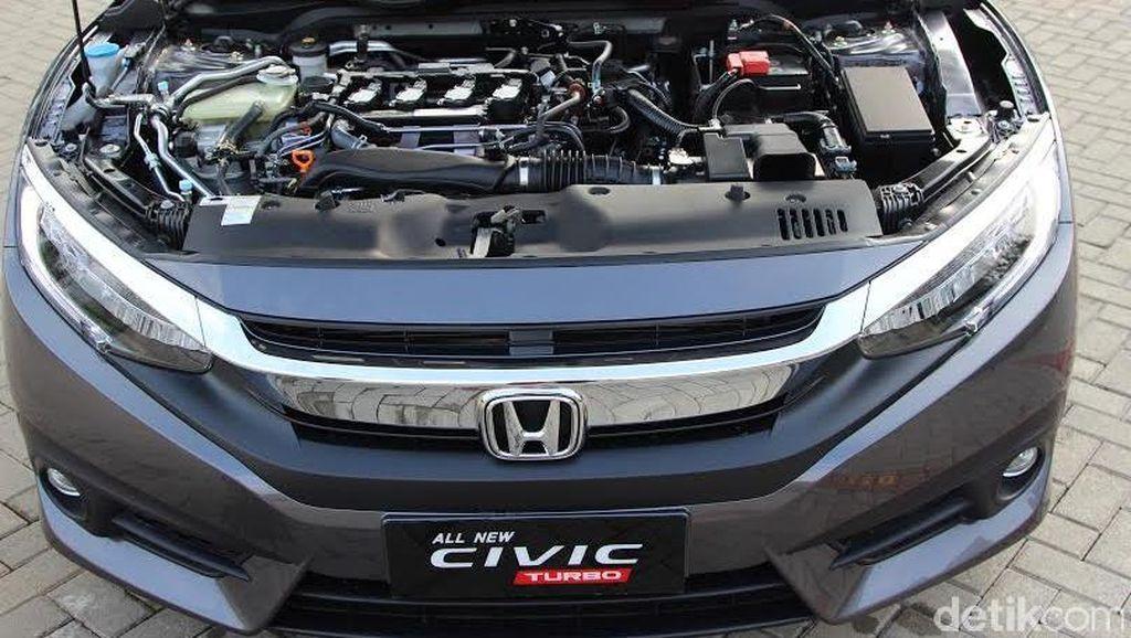 Honda Klaim Kasus Civic Turbo yang Mesinnya Tiba-tiba Mati Sudah Selesai
