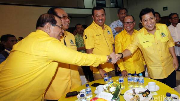Eks Napi Jadi Pengurus Golkar, Novanto: <i>Right Man In The Right Place</i>