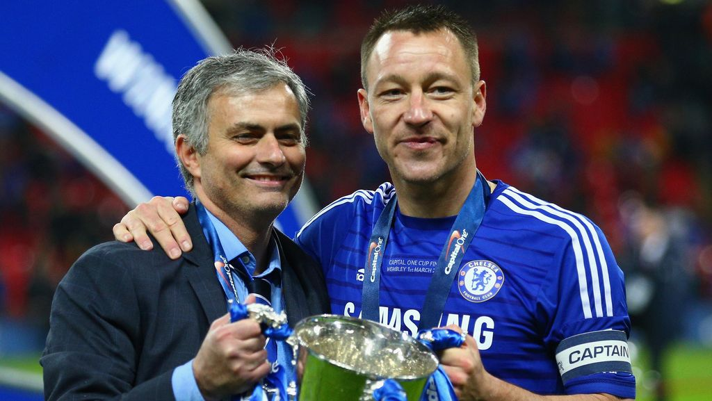 Karena Mourinho, Terry Ingin Jadi Pelatih