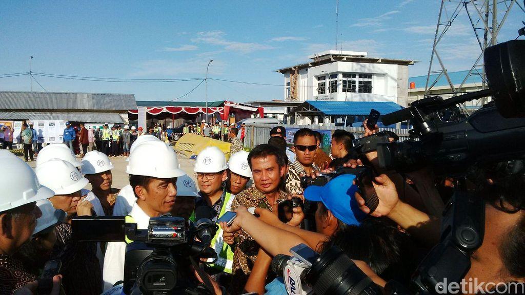 Resmikan Proyek Listrik di Bangka, Jokowi: Jangan Ada Byar-Pet Lagi