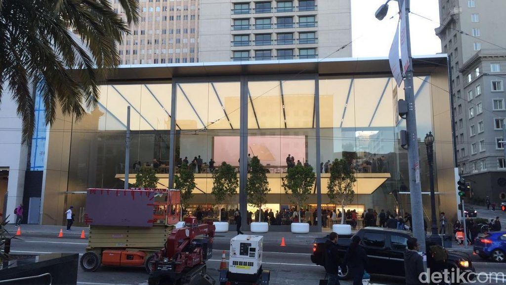 Apple Store Mewah di Jantung San Fransisco