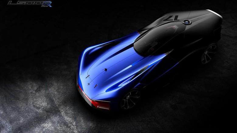 Konsep Peugeot L500 R Hybrid, Desain Mobil Balap Masa Depan