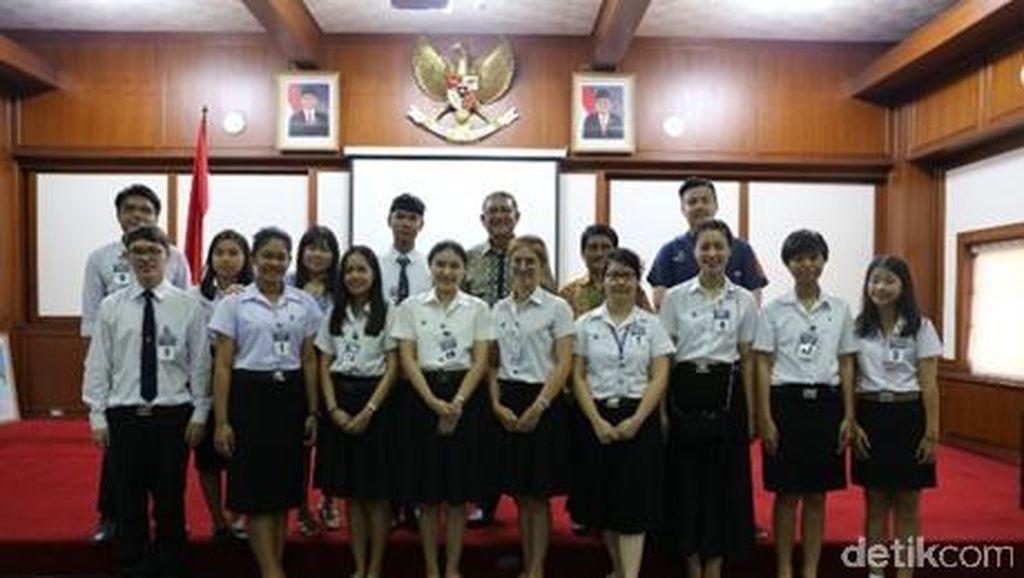 Saat Mahasiswa Thailand Antusias Pidato Berbahasa Indonesia