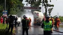 Pertamina Gelar Simulasi Kecelakaan Truk Tanki LPG