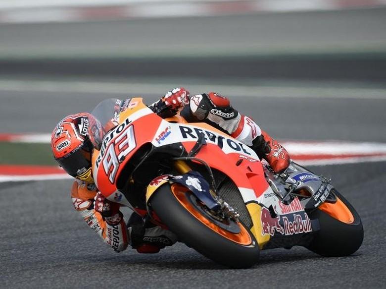 Marquez Rebut Pole, Lorenzo Kedua