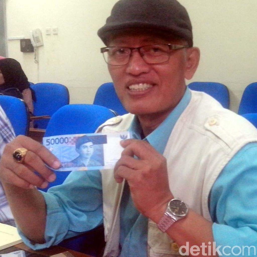 Kiprah Mujirun, Sang Pengukir Gambar Uang Kertas Indonesia