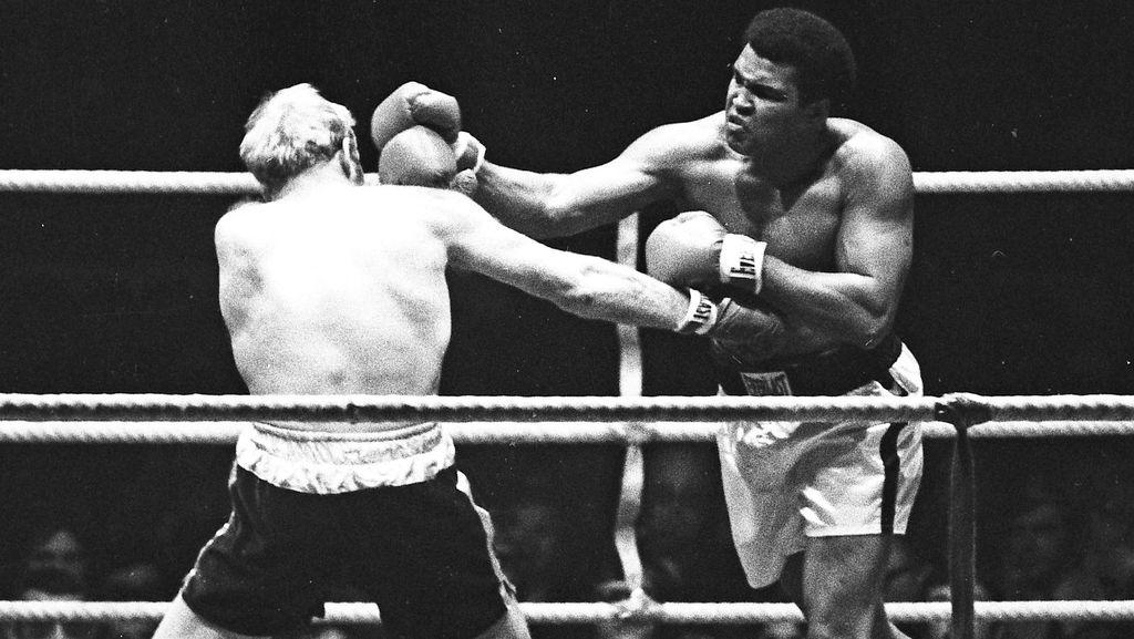 Aksi-aksi Muhammad Ali di Atas Ring