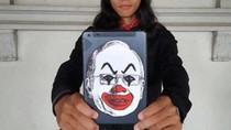 Bikin Karikatur PM Najib Jadi Badut, Seniman Malaysia Dibui