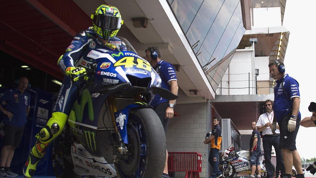 Rossi dan Lorenzo Mungkin Pakai Sasis Baru di Assen