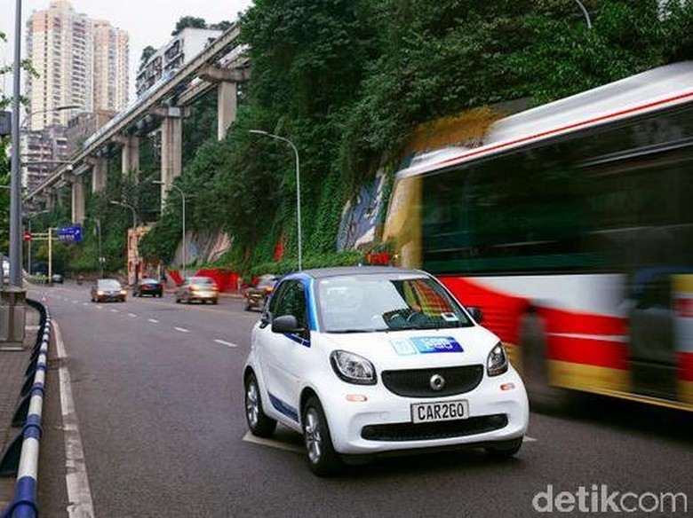 Orang China Senang Berbagi Kendaraan