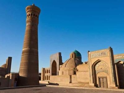 Ada Menara Kematian di Komplek Masjid Cantik Uzbekistan
