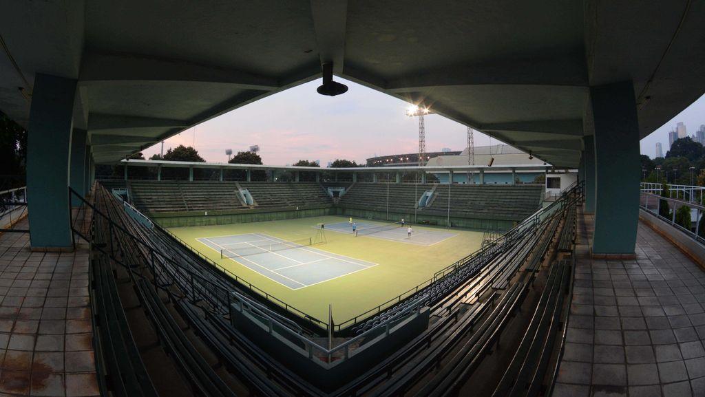 Perombakan Lapangan Tenis untuk Stadion Bisbol Ditunda, Pelti Lega