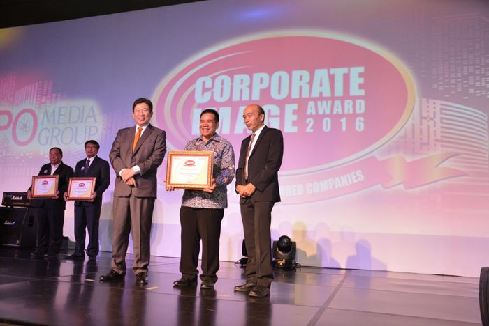 Foto: Corporate Image Award Most Admired Companies 2016 (dok. Pertamina Lubricants)
