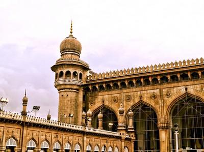 Bukan di Arab Saudi, Ini Makkah Masjid di India