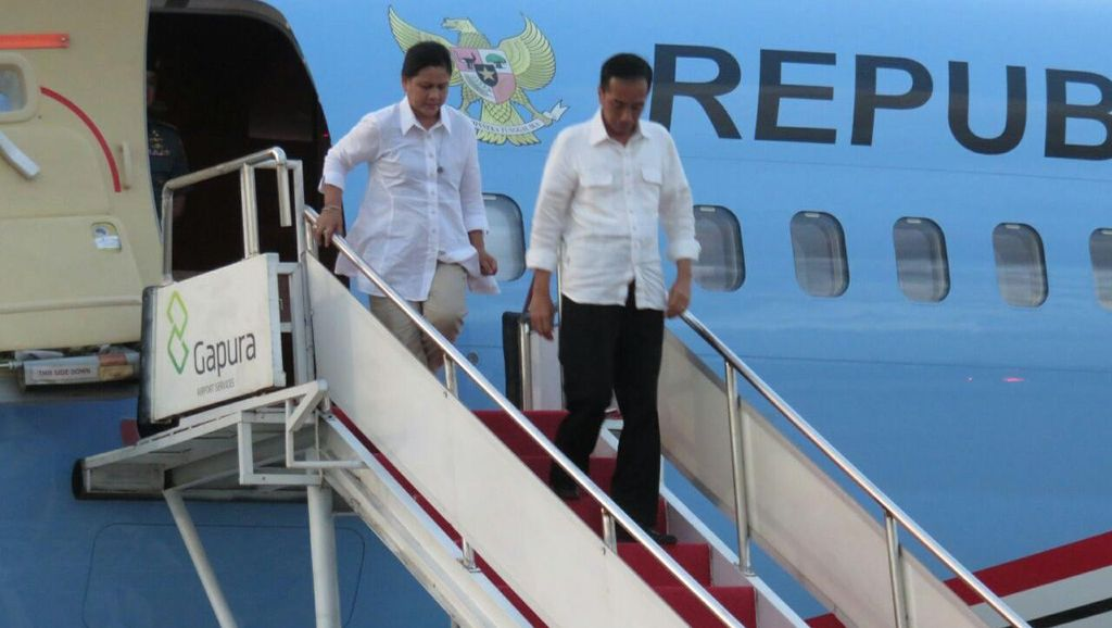 Jokowi Resmikan Proyek Mobile Power Plant  2x25 MW di NTB