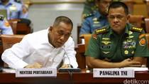 Menhan dan Panglima TNI Raker Dengan Komisi I