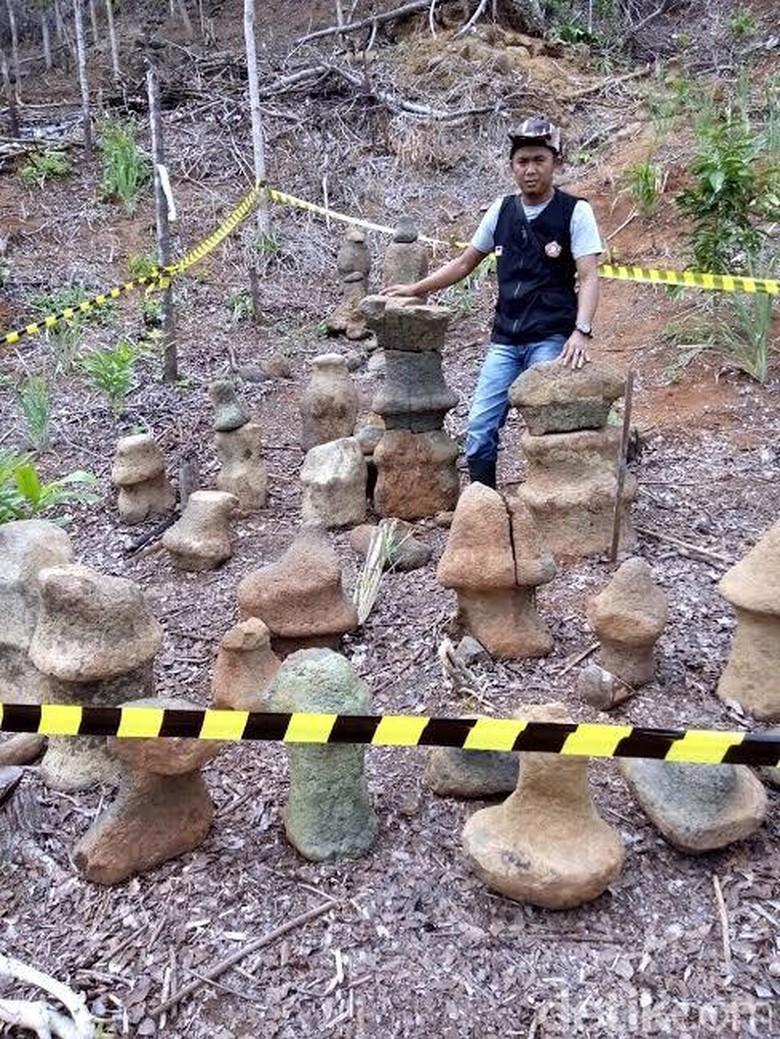 Batu Bidak Catur di Geopark Ciletuh Diperkirakan Peninggalan Pasca-Abad 5 Masehi