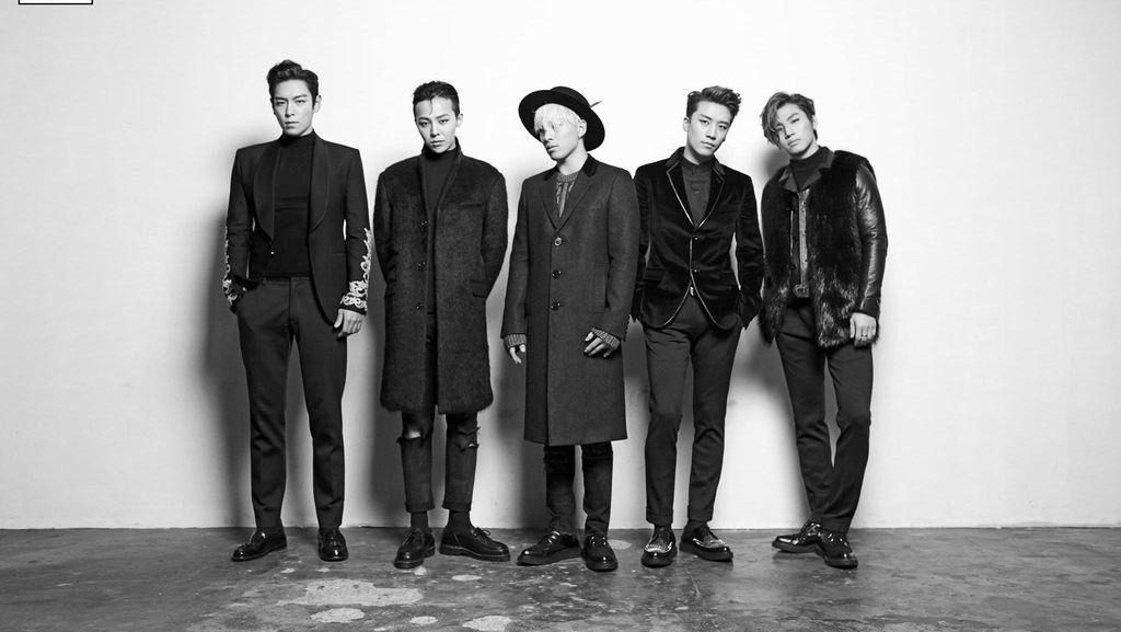 BIGBANG Gelar Konser Penutup Tanpa T.O.P