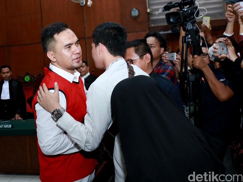 Saipul Jamil Divonis Tiga Tahun Penjara, Keluarga Korban Kecewa