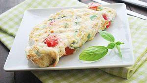 Bikin Omelet Putih Telur yang Sehat dan Enak dengan 4 Langkah Ini